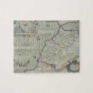 Mapa antiguo de las Áfricas occidentales Puzzle