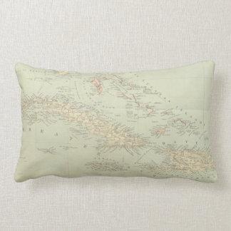 Mapa antiguo de las islas de Bahama Cojines