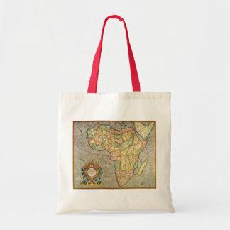 Mapa antiguo de Mercator del Viejo Mundo de Bolsa Tela Barata