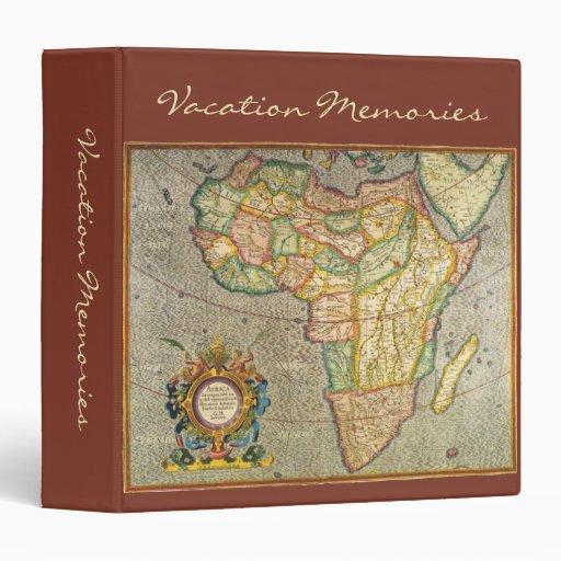 """Mapa antiguo de Mercator del Viejo Mundo de Carpeta 1 1/2"""""""