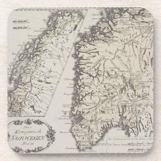 Mapa antiguo de Noruega Posavaso