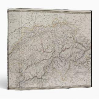 """Mapa antiguo de Suiza Carpeta 1 1/2"""""""