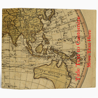 """Mapa antiguo del hemisferio del este de Guillermo Carpeta 2"""""""