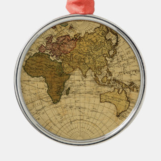 Mapa antiguo del hemisferio del este de Guillermo Adorno De Navidad