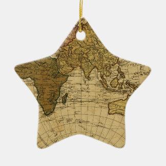 Mapa antiguo del hemisferio del este de Guillermo Adornos