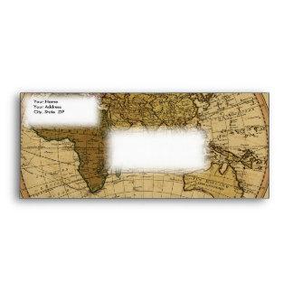 Mapa antiguo del hemisferio del este de Guillermo Sobre