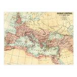 Mapa antiguo del imperio romano postales