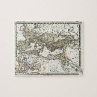 Mapa antiguo del imperio romano puzzle