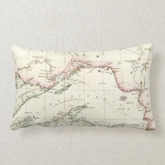 Mapa antiguo del lago Superior Almohada