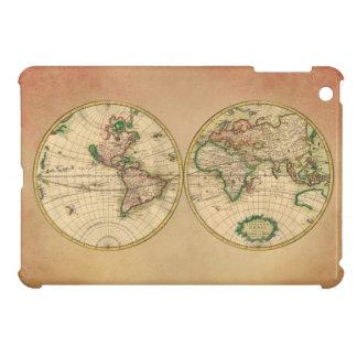 Mapa antiguo del mundo iPad mini protector