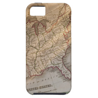 Mapa antiguo funda para iPhone SE/5/5s