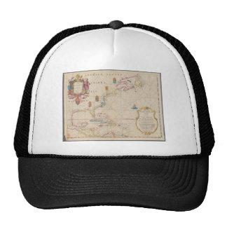 Mapa antiguo gorro