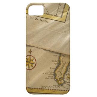 Mapa antiguo iPhone 5 carcasas