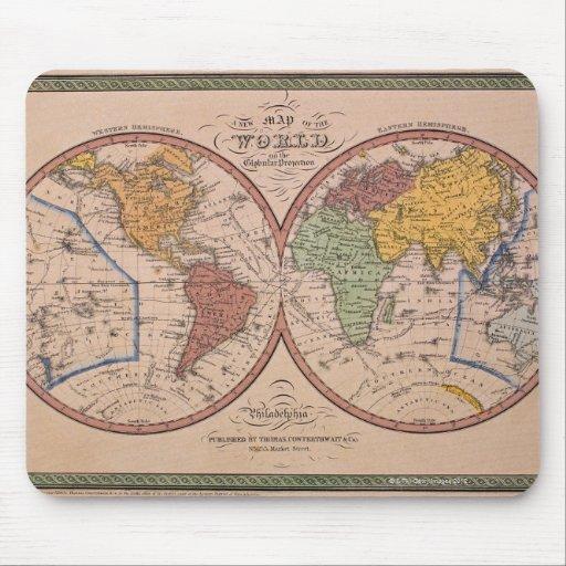 Mapa antiguo mousepad