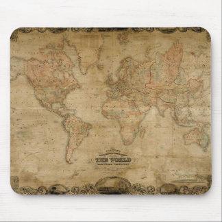 Mapa antiguo Mousepad Alfombrillas De Ratón