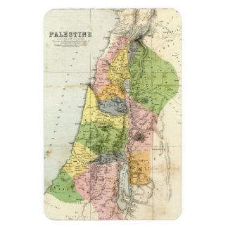 Mapa antiguo - Palestina bíblica Imán De Vinilo