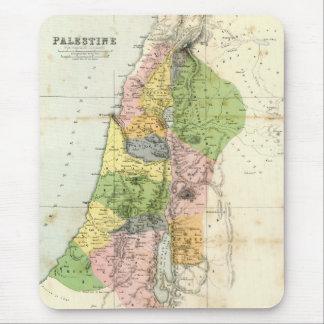 Mapa antiguo - Palestina bíblica Mouse Pad