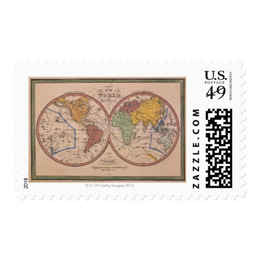 Mapa antiguo sellos