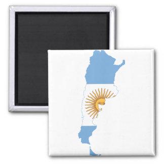 Mapa AR de la bandera de la Argentina Iman De Frigorífico