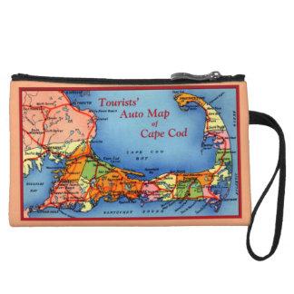 Mapa auto de los turistas de Cape Cod Massachusett