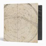 "Mapa celestial carpeta 1 1/2"""