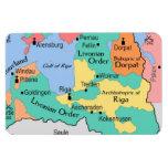 Mapa circa 1260 imanes rectangulares