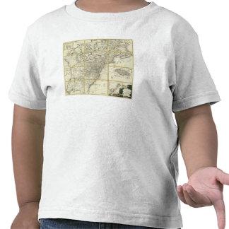 Mapa compuesto de Estados Unidos Camiseta