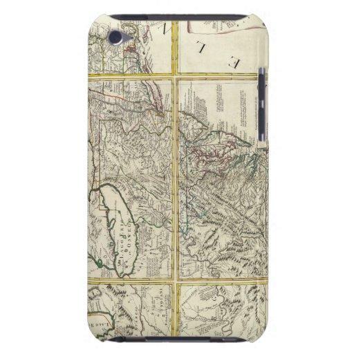 Mapa compuesto de Estados Unidos Barely There iPod Funda
