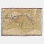 Mapa continental manta