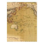 Mapa continental postales