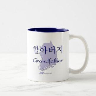 Mapa (coreano) de abuelo tazas