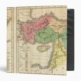 "Mapa cronológico de Turquía Carpeta 1 1/2"""