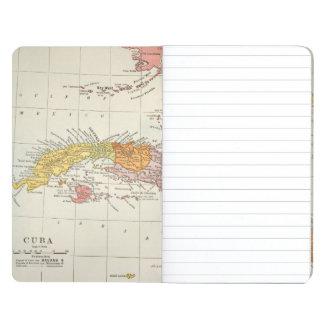 MAPA: CUBA, 1900 CUADERNO GRAPADO