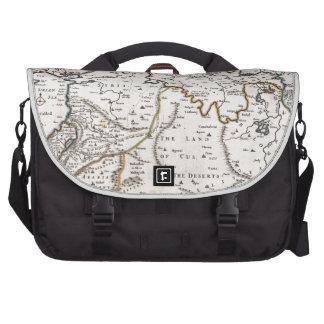 Mapa das Terras do Paraíso, e Terra Santa Bag For Laptop