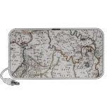 Mapa das Terras do Paraíso, e Terra Santa Notebook Speaker