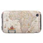 Mapa de África 2 iPhone 3 Tough Cárcasas