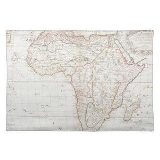 Mapa de África 2 Mantel