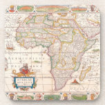 Mapa de África 2 Posavasos De Bebidas