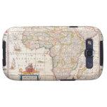 Mapa de África 2 Samsung Galaxy SIII Funda