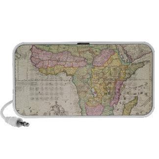 Mapa de África Mini Altavoces
