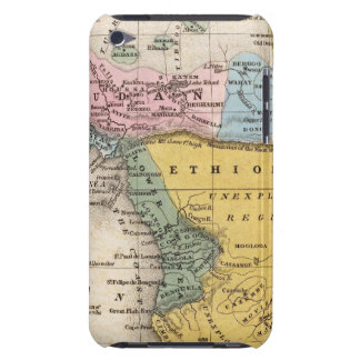 Mapa de África Barely There iPod Protectores