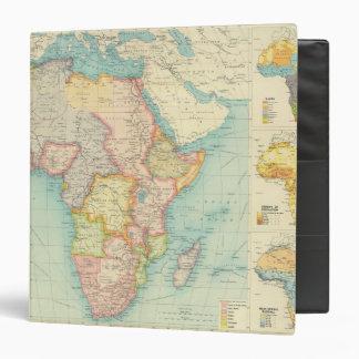 Mapa de África con las rutas de envío