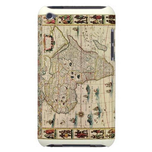 Mapa de África de los 1660's del vintage de Willem iPod Touch Cobertura