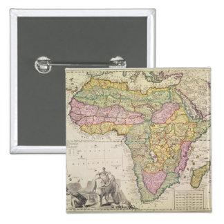 Mapa de África Pins