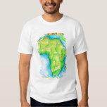 Mapa de África Playeras