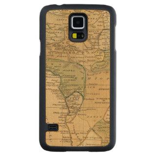 Mapa de África por Worcester Funda De Galaxy S5 Slim Arce