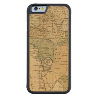 Mapa de África por Worcester Funda De iPhone 6 Bumper Arce