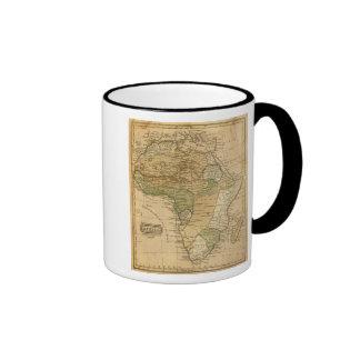 Mapa de África por Worcester Taza De Café