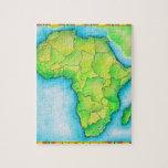 Mapa de África Puzzle