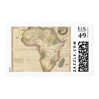 Mapa de África Envio
